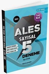 Tercih Akademi - Tercih Akademi Yayınları 2021 ALES Sayısal Tamamı Çözümlü 5 Deneme