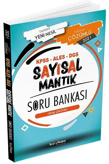 Tercih Akademi Yayınları 2021 KPSS ALES DGS Sayısal Mantık Tamamı Çözümlü Soru Bankası