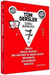 Tercih Akademi - Tercih Akademi Yayınları 7. Sınıf Tüm Dersler Soru Bankası
