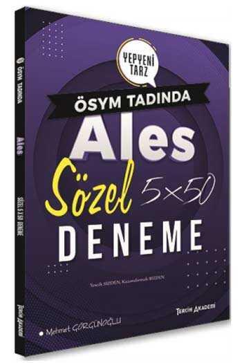 Tercih Akademi Yayınları ALES Sözel 5×50 Deneme