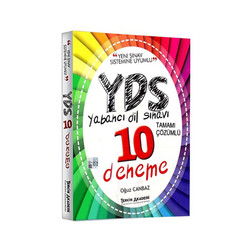 Tercih Akademi - Tercih Akademi Yayınları YDS Tamamı Çözümlü 10 Deneme