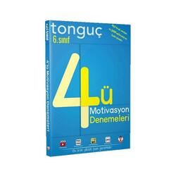 Tonguç Akademi - Tonguç Akademi 6. Sınıf 4 lü Motivasyon Denemeleri
