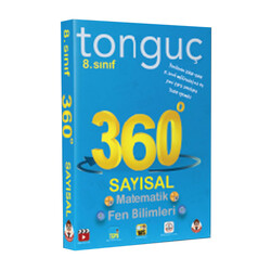 Tonguç Akademi - Tonguç Akademi 8. Sınıf 360 Serisi Sayısal Cep Soru Bankası