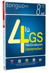 Tonguç Akademi - Tonguç Akademi 8. Sınıf LGS 4lü Motivasyon Denemeleri