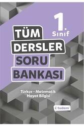 Tudem Yayınları - Tudem Yayınları 1. Sınıf Tüm Dersler Soru Bankası