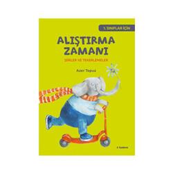 Tudem Yayınları - Tudem Yayınları 1. Sınıflar İçin Alıştırma Zamanı Şiirler ve Tekerlemeler