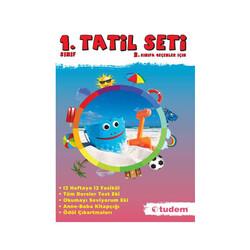 Tudem Yayınları - Tudem Yayınları 1.Sınıf Tatil Seti