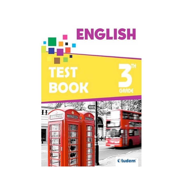 Tudem Yayınları 3. Sınıf İngilizce Soru Bankası