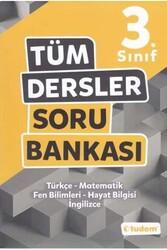 Tudem Yayınları - Tudem Yayınları 3. Sınıf Tüm Dersler Soru Bankası