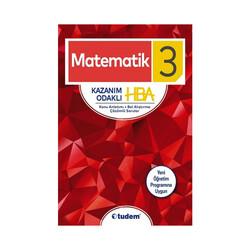 Tudem Yayınları - Tudem Yayınları 3.Sınıf Matematik Kazanım Odaklı HBA