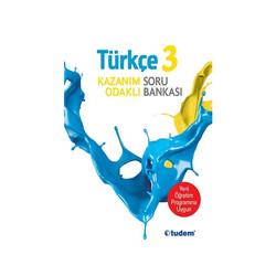 Tudem Yayınları - Tudem Yayınları 3.Sınıf Türkçe Kazanım Odaklı Soru Bankası