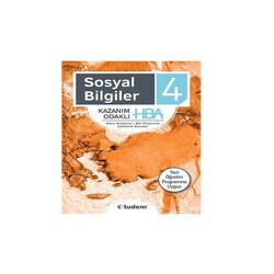 Tudem Yayınları - Tudem Yayınları 4. Sınıf Sosyal Bilgiler Kazanım Odaklı HBA
