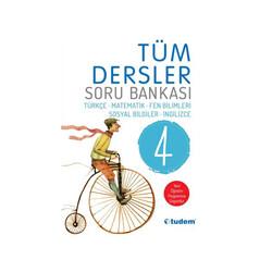 Tudem Yayınları - Tudem Yayınları 4. Sınıf Tüm Dersler Soru Bankası
