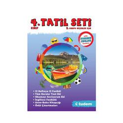 Tudem Yayınları - Tudem Yayınları 4.Sınıf Tatil Seti