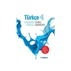 Tudem Yayınları - Tudem Yayınları 4.Sınıf Türkçe Kazanım Odaklı Soru Bankası