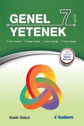 Tudem Yayınları 7. Sınıf Genel Yetenek Kitabı