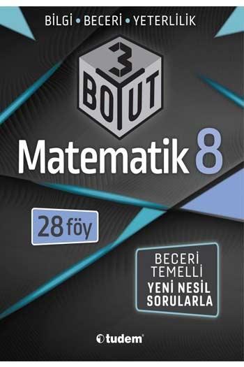 Tudem Yayınları 8. Sınıf Matematik 3 Boyut 28'li Föy