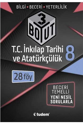 Tudem Yayınları 8. Sınıf T.C. İnkılap Tarihi ve Atatürkçülük 3 Boyut 28'li Föy