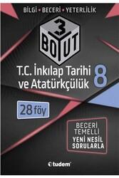 Tudem Yayınları - Tudem Yayınları 8. Sınıf T.C. İnkılap Tarihi ve Atatürkçülük 3 Boyut 28'li Föy