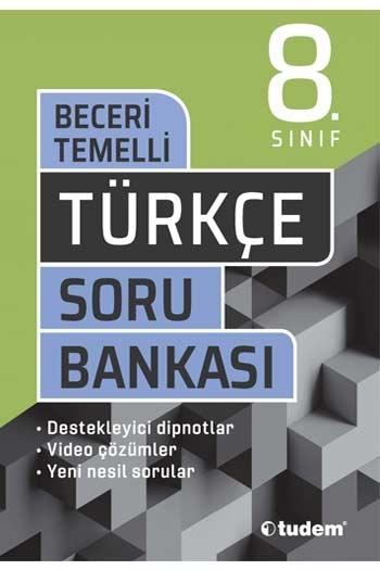 Tudem Yayınları 8. Sınıf Türkçe Beceri Temelli Soru Bankası