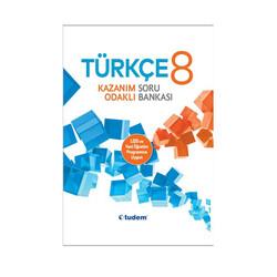 Tudem Yayınları - Tudem Yayınları 8. Sınıf Türkçe Kazanım Odaklı Soru Bankası