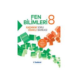 Tudem Yayınları - Tudem Yayınları 8.Sınıf Fen Bilimleri Kazanım Odaklı Soru Bankası