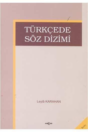 Türkçede Söz Dizimi Akçağ Yayınları