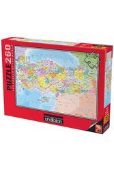 Türkiye Siyasi Haritası - Thumbnail