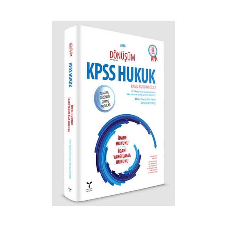 Umuttepe Yayınları Dönüşüm KPSS A Grubu İdare Hukuku-İdari Yargılama Hukuku Tamamı Çözümlü Çıkmış Sorular
