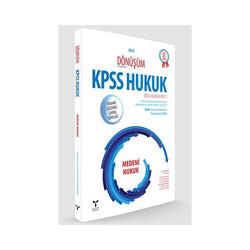 Umuttepe Yayınları - Umuttepe Yayınları Dönüşüm KPSS A Grubu Medeni Hukuk Tamamı Çözümlü Çıkmış Sorular