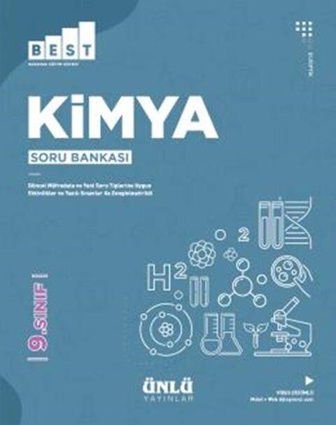 Ünlü Yayıncılık 9. Sınıf Kimya BEST Soru Bankası