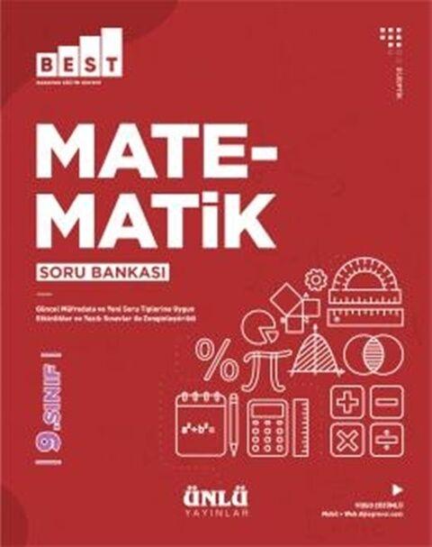 Ünlü Yayıncılık 9. Sınıf Matematik BEST Soru Bankası