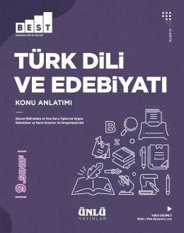 Ünlü Yayıncılık 9. Sınıf Türk Dili ve Edebiyatı BEST Konu Anlatımlı