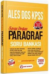 Veri Yayınevi - Veri Yayınevi ALES DGS KPSS Paragraf Soru Bankası