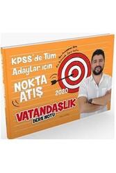 Yazarın Kendi Yayını - Yakup Karataş 2020 KPSS Vatandaşlık Nokta Atış Ders Notları