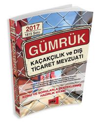 Yargı Yayınları - Yargı Yayınları 2017 GYS GÜMRÜK Kaçakçılık ve Dış Ticaret Mevzuatı