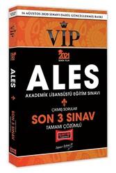 Yargı Yayınları - Yargı Yayınları 2021 ALES VIP Son 3 Sınav Tamamı Çözümlü Çıkmış Sorular