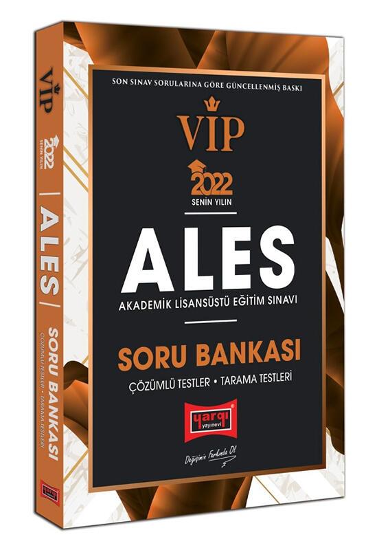 Yargı Yayınları 2022 ALES VIP Soru Bankası