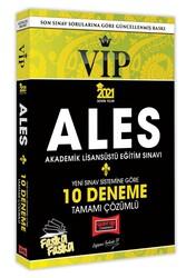 Yargı Yayınları - Yargı Yayınları 2021 ALES VIP Yeni Sınav Sistemine Göre Tamamı Çözümlü 10 Fasikül Deneme