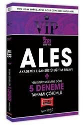 Yargı Yayınları - Yargı Yayınları 2021 ALES VIP Yeni Sınav Sistemine Göre Tamamı Çözümlü 5 Deneme