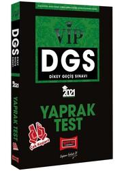 Yargı Yayınları - Yargı Yayınları 2021 DGS VIP Çek Kopart Yaprak Test