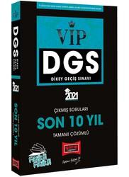 Yargı Yayınları - Yargı Yayınları 2021 DGS VIP Sayısal Sözel Yetenek Son 10 Yıl Tamamı Çözümlü Fasikül Çıkmış Sorular