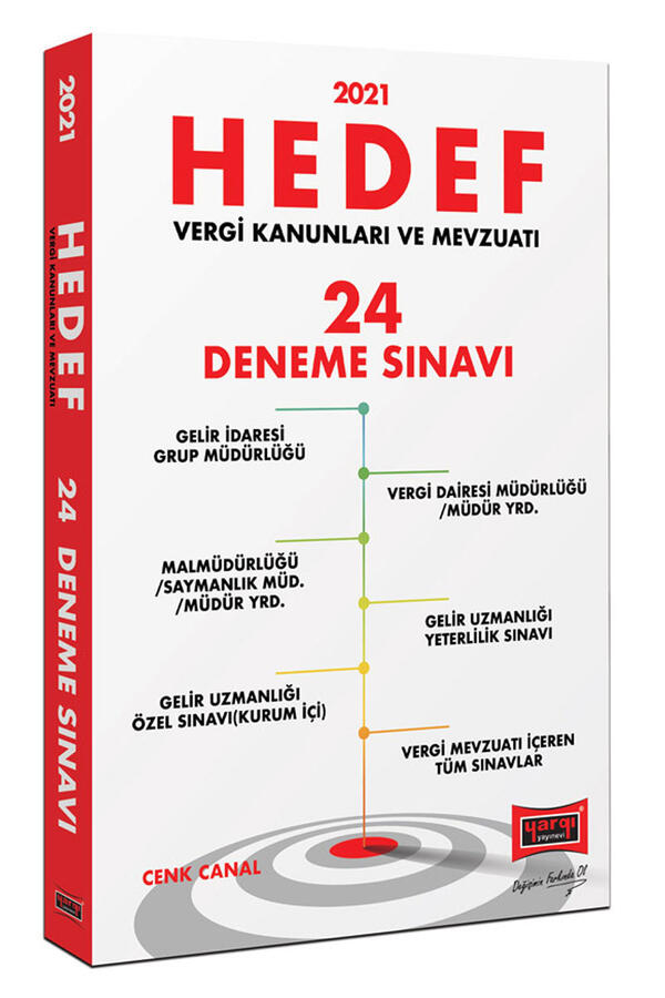 Yargı Yayınları 2021 Hedef Vergi Kanunları ve Mevzuatı 24 Deneme Sınavı