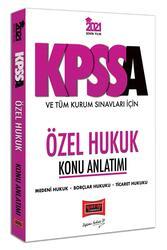 Yargı Yayınları - Yargı Yayınları 2021 KPSS A Grubu ve Tüm Kurum Sınavları İçin Özel Hukuk Konu Anlatımı