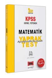 Yargı Yayınları - Yargı Yayınları 2021 KPSS Genel Yetenek Matematik Çek Kopart Yaprak Test