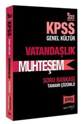 Yargı Yayınları - Yargı Yayınları 2021 KPSS Muhteşem Vatandaşlık Tamamı Çözümlü Soru Bankası