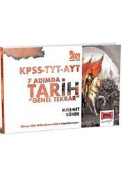 Yargı Yayınları - Yargı Yayınları 2021 KPSS TYT AYT 7 Adımda Tarih Genel Tekrar