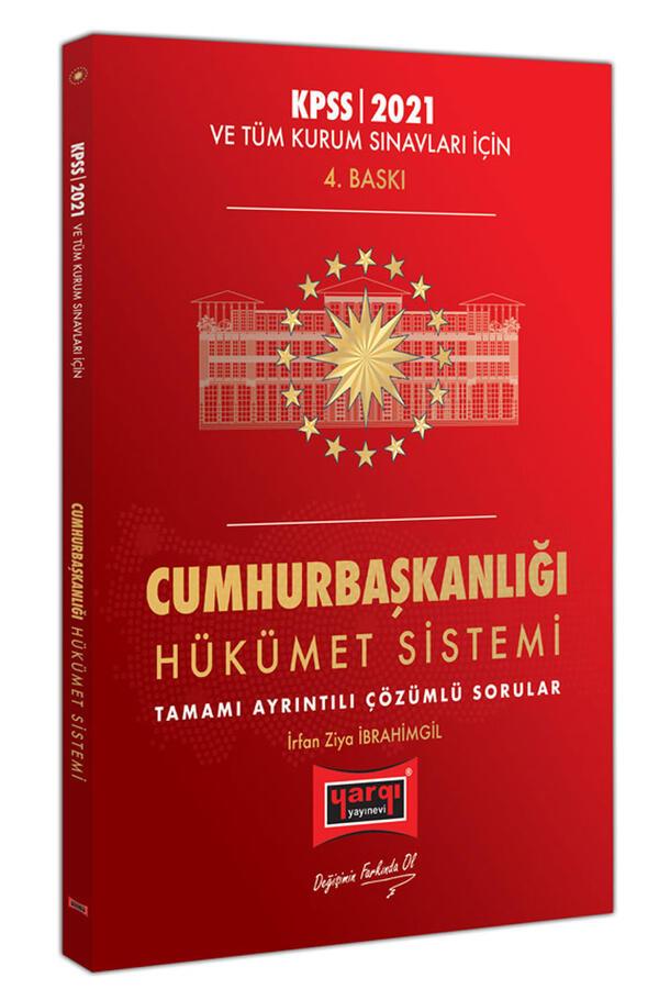 Yargı Yayınları 2021 KPSS ve Tüm Kurum Sınavları İçin Cumhurbaşkanlığı Hükümet Sistemi Tamamı Ayrıntılı Çözümlü Sorular