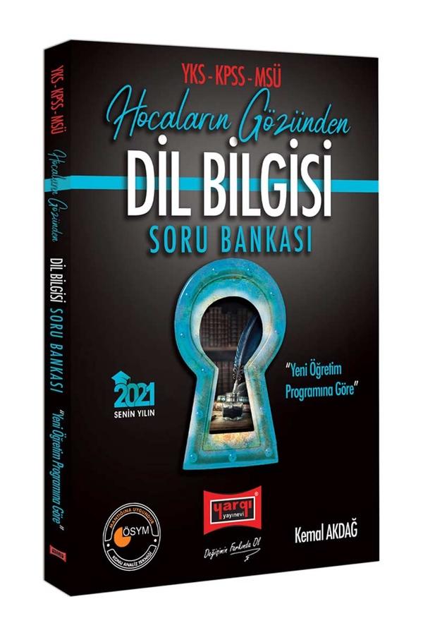 Yargı Yayınları 2021 YKS KPSS MSÜ Hocaların Gözünden Dil Bilgisi Soru Bankası