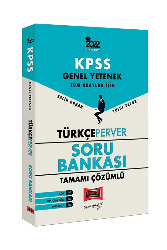 Yargı Yayınları 2022 Genel Yetenek TürkçePerver Tamamı Çözümlü Soru Bankası